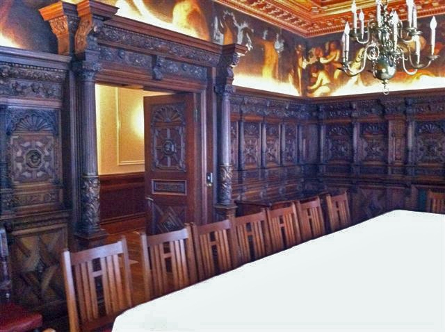 Hand carved dining room 2V2
