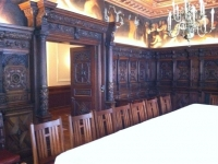 Hand carved dining room 2